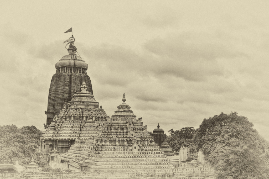 The Temple of Jagannatha in Puri